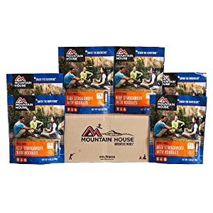 Mountain House beef stroganoff with noodles 6 pack product image
