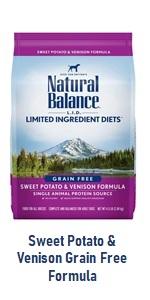 Sweet Potato and Venison Grain Free