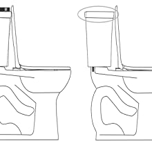 bemis, church, kohler, toilet, seat, elongated, oblong, round,