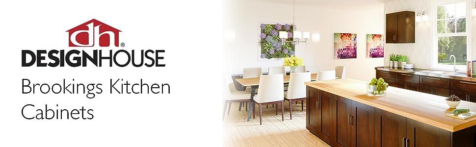 Amazon Com Design House Brookings 36 Inch Sink Base Cabinet White Shaker Furniture Decor