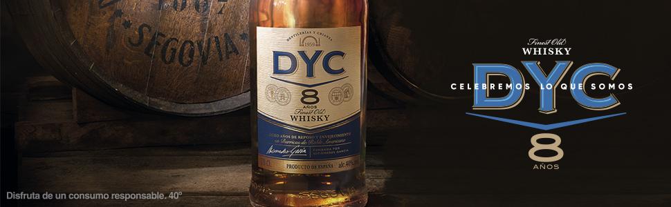 Dyc 8 Años Whisky Nacional, 40%, 700ml: Amazon.es ...