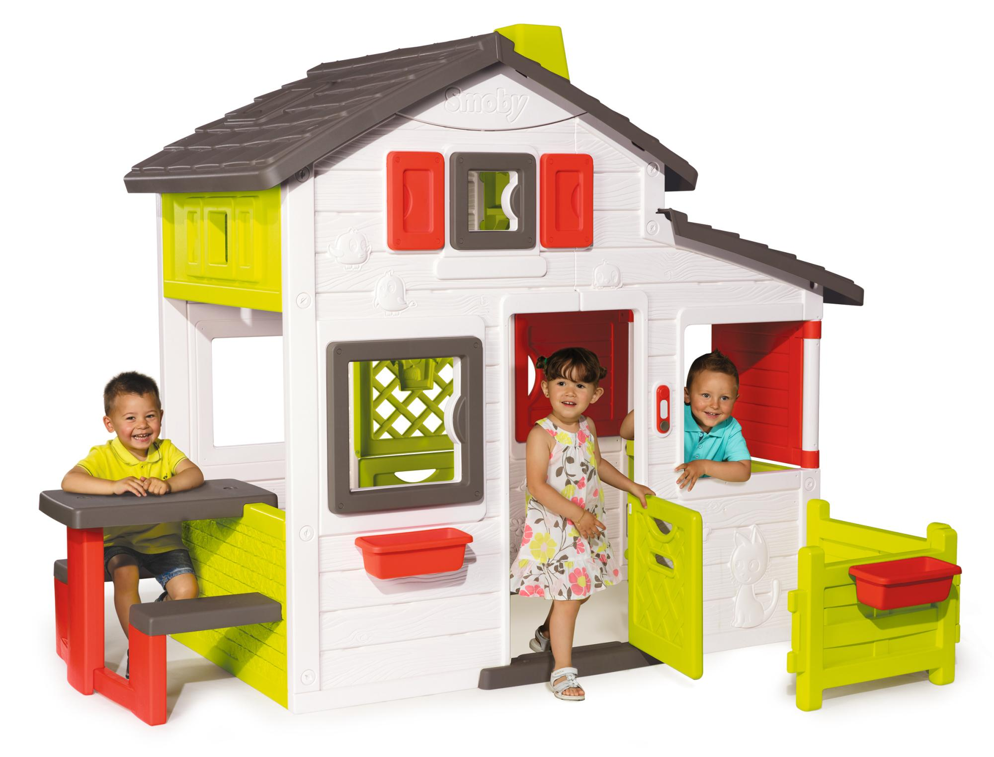 smoby 310209 friends haus spielzeug. Black Bedroom Furniture Sets. Home Design Ideas