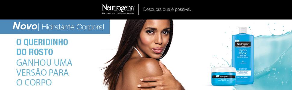 Neutrogena, Hydro Boost, Hidratante Corpotal