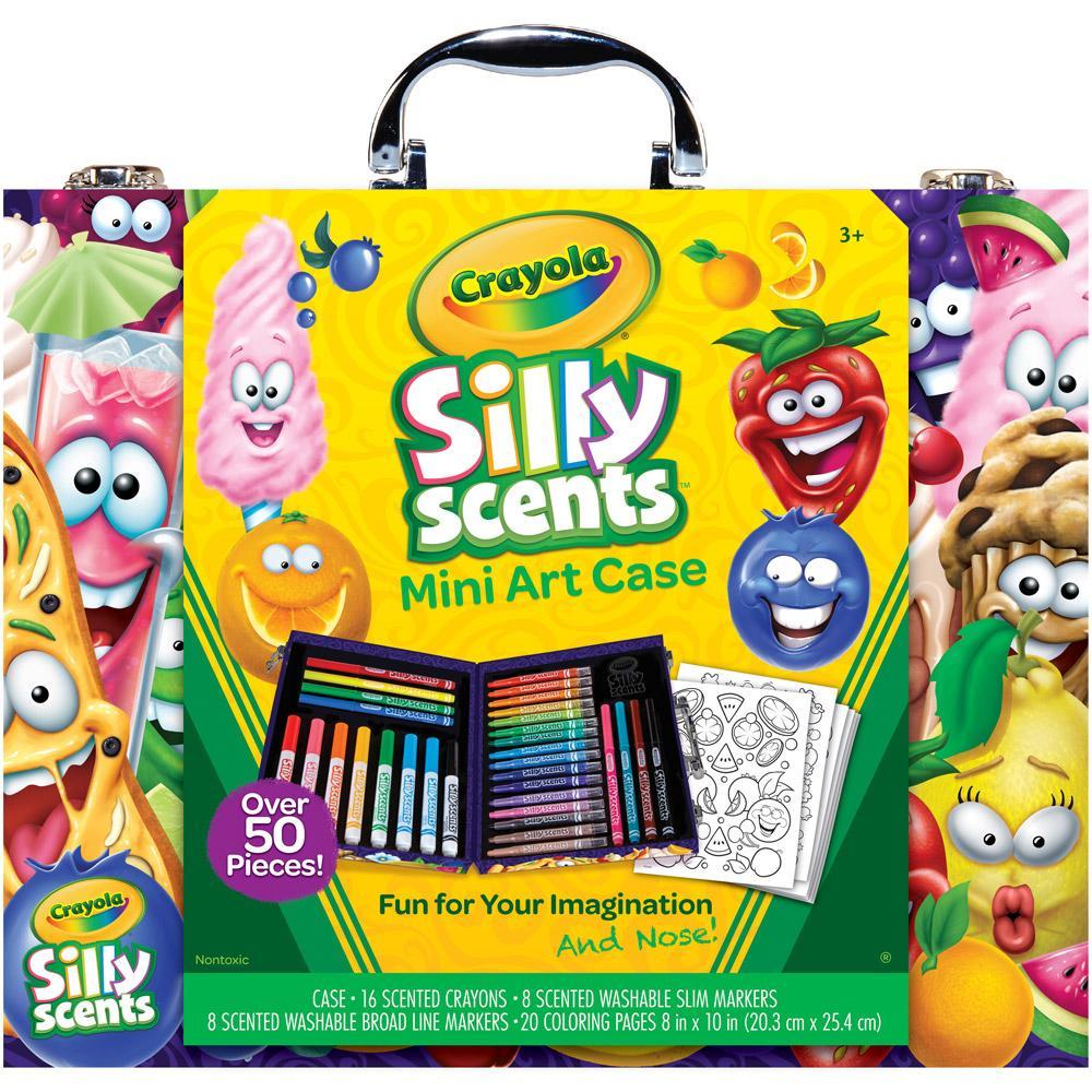 Amazon.com: Crayola Silly Scents Mini Inspiration Art Case ...