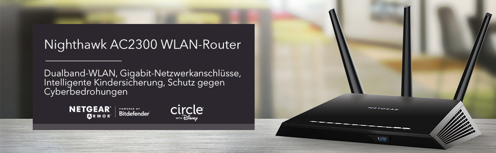 Nighthwk AC2300 WLAN-Router