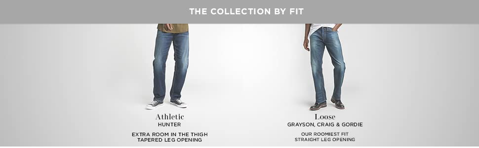 Silver Jeans Co Men's Denim