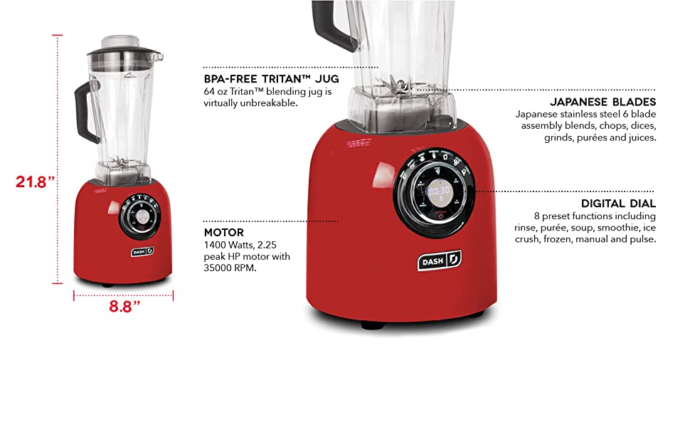 Blender, Power, Smoothie, Soup, Frozen, Drinks, Puree