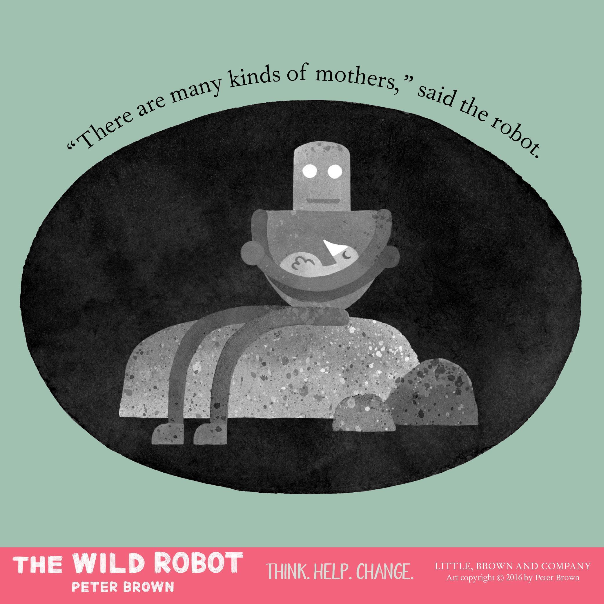 Amazon.com: The Wild Robot (9780316381994): Peter Brown: Books