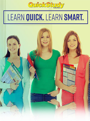 QuickStudy Laminated Study/Reference Guides Learn Quick. Learn Smart. BarCharts Publishing