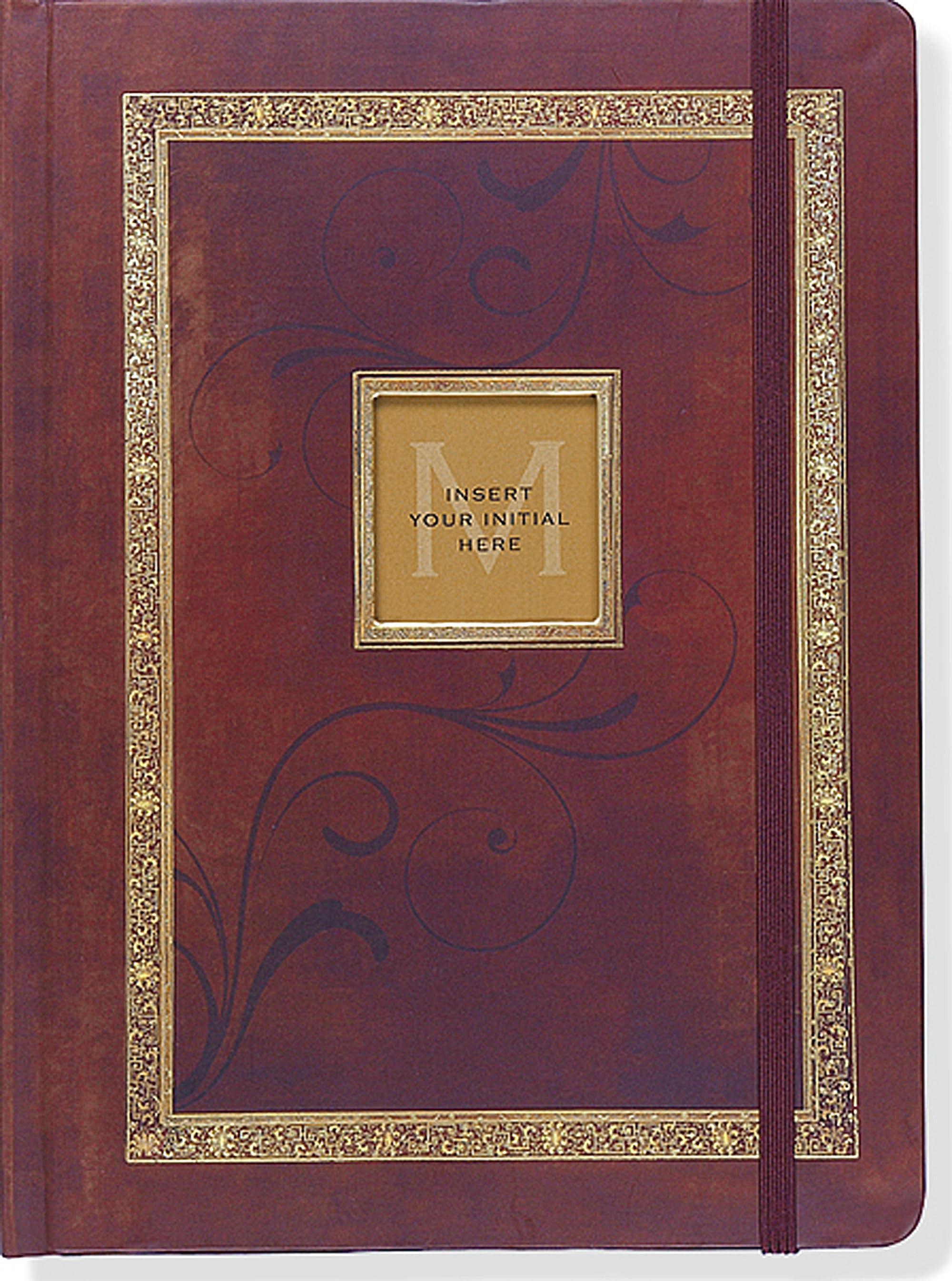 Antique Monogram Journal Diary Notebook Peter Pauper