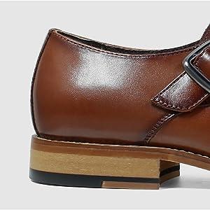Classic Stacked Heel