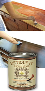 faux wood,liquid wood,retique it,chalk paint,furniture paint,cabinet paint,annie sloan