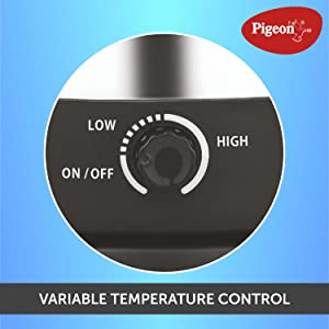 Variable temperature control