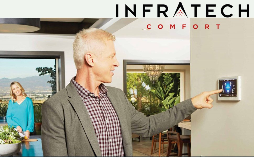Investment guru infra tech heater controls internet work at home without investment