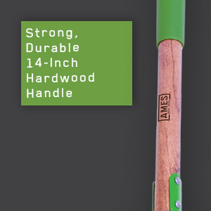 ames, tools, action hoe, weeder, cultivator, hardwood handle, cushion grip, garden