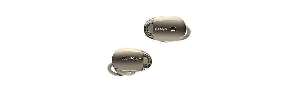 Sony WF1000X - Auriculares inalámbricos (Cancelación de ruido, Sense Engine, Bluetooth, compatible con aplicación Headphones Connect) beige