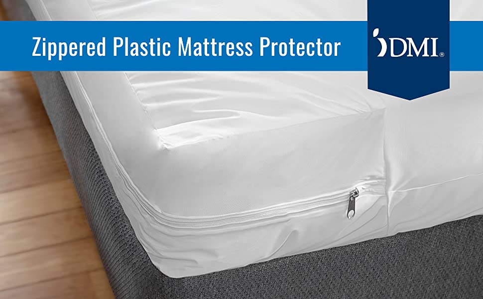 Amazon Com Dmi Zippered Plastic Mattress Protector