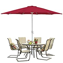 9 Foot Patio Umbrella