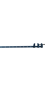 GROZ 36-inch Duo-Action Sash Bar Clamp