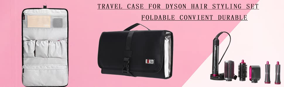 HAIR CUILER CASE  TRAVEL CASE FOR DYSON HAIR STYLING SET TRAVEL ORGANIZERS SMALL HANDBAG