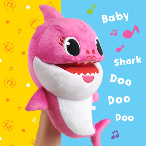 Mommy Shark Singing Puppet Tempo Control