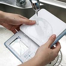 タニタ はかり スケール 料理 防水 洗える 2kg 0.1g KW-220 WH