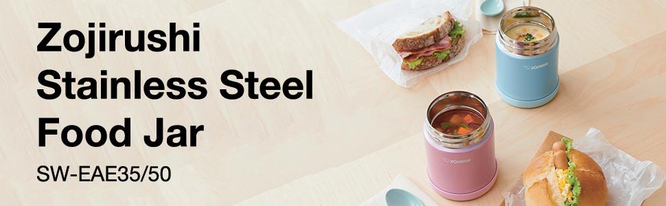 Zojirushi Stainless Steel Food Jar SW-EAE35/50