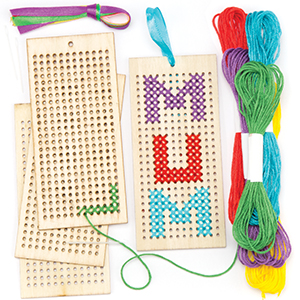 Wooden Bookmark Cross Stitch Kits