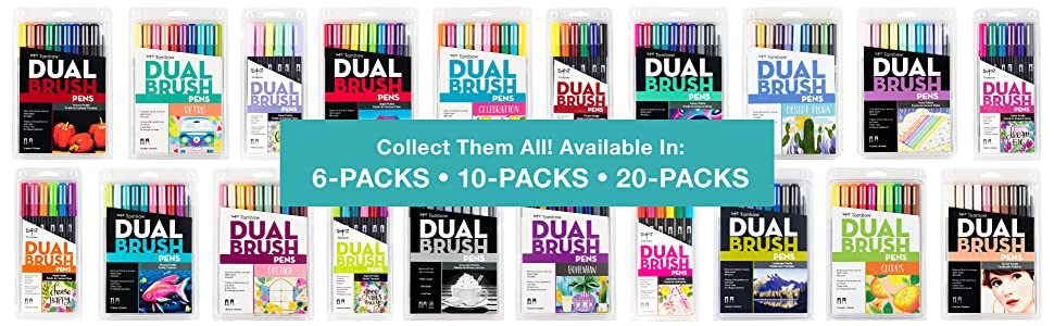 Tombow Dual Brush Pen Art Marker Sets