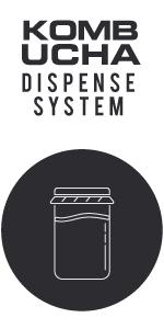 Kegco Kombucha Keg Dispensers