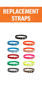 replacement collar strap bright multiple colors