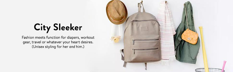 the honest company city backpack black health personal care. Black Bedroom Furniture Sets. Home Design Ideas