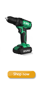 Cordless Drill Driver Kit, 20V Max Impact Hammer Drill Set w/ Lithium-Ion Battery, Fast Charger