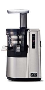 Hurom Hp Slow Juicer White : Amazon.com: Hurom Elite Slow Juicer Model HH-SBB11 Noble Silver with Cookbook: Kitchen & Dining