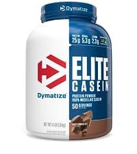 elite casein rich chocolate protein powder