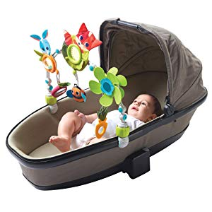 Clip Fits a Variety of Strollers, Infant Car Seats, and Carry Cots