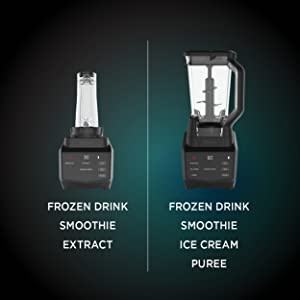 Ninja Smart Screen DUO Technology in Black (CT661V) Countertop Blender with Freshvac, 72 oz