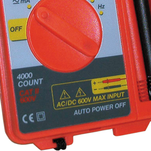 multimeter for hard-wired installations and cicuit breakers