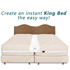 Amazon Com Easy King Bed Doubling System Twin To King