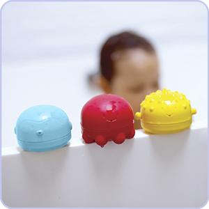 colorful bath toy;bath squeeze toy;baby bath accessory