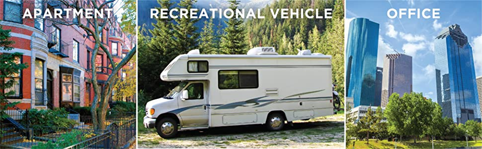 Apartment, recreational vehicle, office