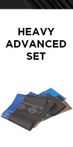 TheraBand Heavy Advanced Set