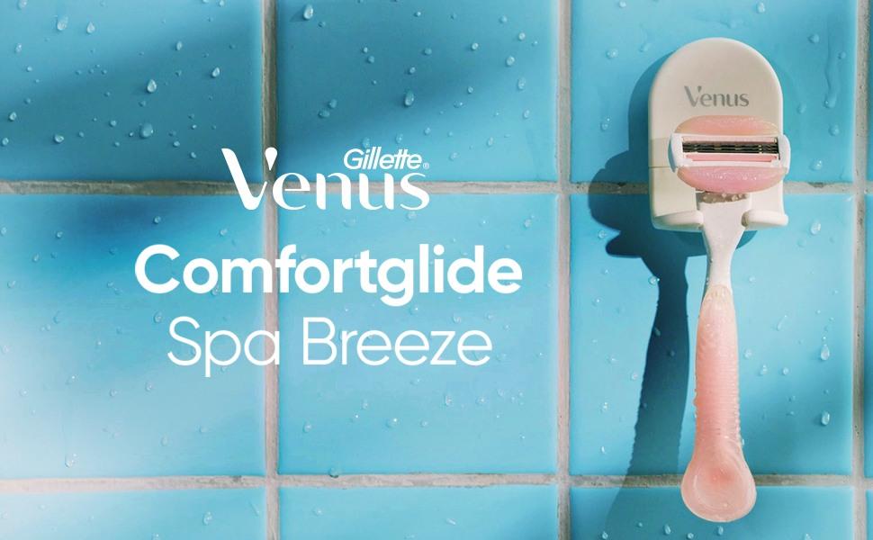 Gillette Venus Comfortglide Spa Breeze