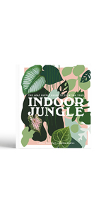 indoor jungle cover leaves houseplant book house gifts for the gardener gardening books plant book