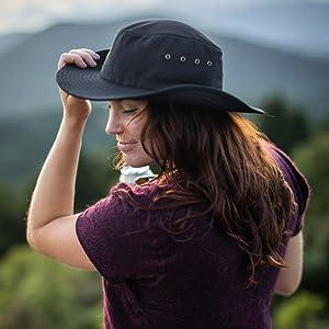 western sun hat washable shapeable