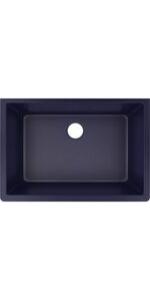 ELXRU13322JB0 quartz luxe blue kitchen sink