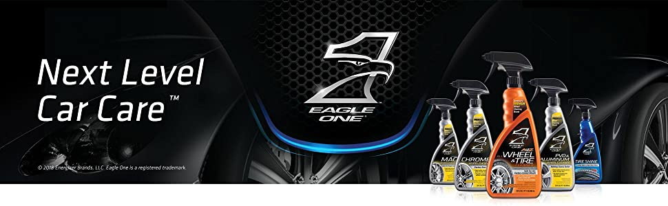 Next Level Car Care, Eagle One Tire Products, Tire Cleaner, Tire Protector, Tire Shiner, Trucks