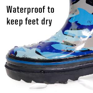 oakiwear rain boots, oakiwear, boys rain boots, girls rain boots, girls printed rain boots,lone cone