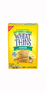 Wheat Thins Whole Grain Crackers Flavors