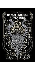 d&d dungeons & dragons days of endless adventure cover zub idw graphic novel baldur's gate